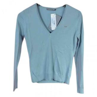 Lacoste Blue Silk Knitwear for Women