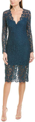 Bardot Midnight Lace Sheath Dress
