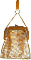 One Kings Lane Vintage Mesh Chatelaine Evening Purse