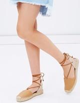 Soludos Leather Platform Gladiator Sandals