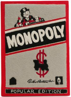 Olympia Le-Tan Monopoly Popular Edition clutch bag