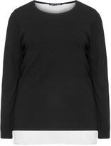 Jette Joop Plus Size Merino and cashmere knit jumper