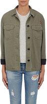 Rag & Bone Women's Irving Shirt Jacket-GREEN