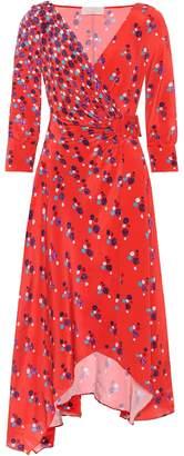 Peter Pilotto Printed silk crepe dress