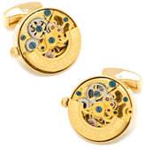 Cufflinks Inc. Golden Watch Movement Cuff Links