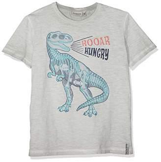 Salt&Pepper Salt and Pepper Boys' T-Shirt Hunter Print (Grey 228), (Size : 140/146)