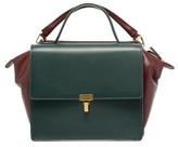 Balenciaga Collage Double Calfskin Leather Bag - Red