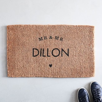 west elm Mr & Mr Doormat