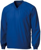 Sport-Tek Men's Big And Tall Breathable V-Neck Wind Shirt - TJST72 XLT