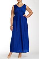 Vince Camuto Rumple Maxi Dress (Plus Size)