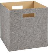 ClosetMaid 7116 Decorative Fabric Storage Bin, Gray