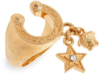 Versace Rodeo Queen Charm Ring