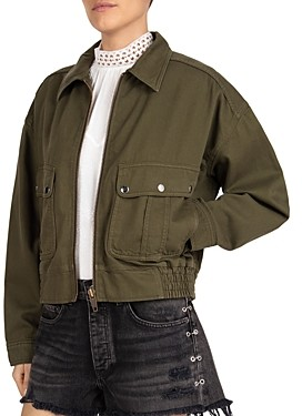 The Kooples Zip Utility Jacket