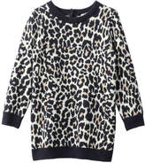Joe Fresh Baby Girls' Leopard Sweater Dress, Cream (Size 18-24)