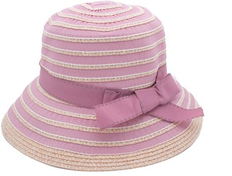 Fenside Country Clothing S275- Ladies Wide Brim Taped Straw Hat (Pink)