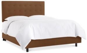 Skyline Hawthorne Button Bed- California King