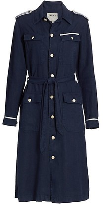 L'Agence Kingsley Tape Trim Coat