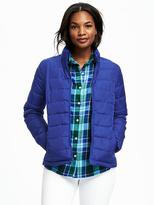 Old Navy Mock-Neck Lightweight Frost-Free Jacket for Women