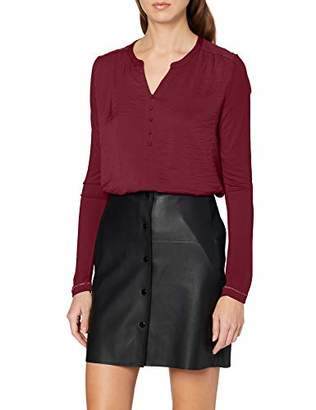 S'Oliver Women's 14.912.31.6813 Long Sleeve Top,18 (Size: )