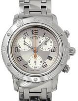 Hermes Clipper Diver CP2 410 Stainless Steel Quartz Mens Watch