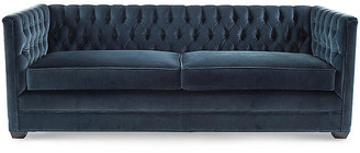 Michael Thomas Collection Ames Tuxedo Sofa - Atlantis Velvet