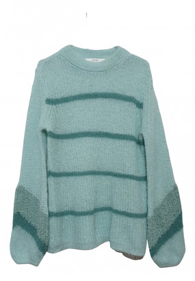 Gestuz Green Wool Knitwear