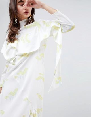 ASOS Lily Pad Bias Cut Dress