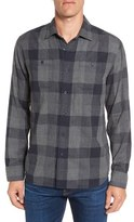Grayers Chatsworth Trim Fit Plaid Double Woven Sport Shirt