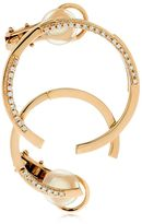 Volume Rose Gold & Diamond Mono Earring