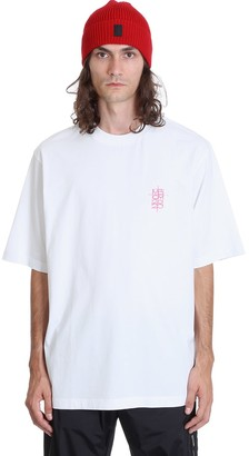 Marcelo Burlon County of Milan World Over T-shirt In White Cotton