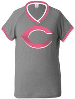 5th & Ocean Girls' Cincinnati Reds Triple Flock T-Shirt