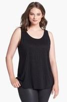 Eileen Fisher Plus Size Women's Organic Linen Tank