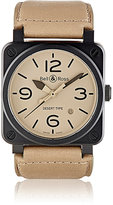 Bell & Ross Men's BR 03 Desert Type Watch-BLACK