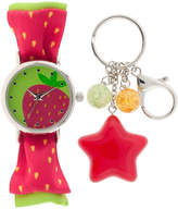 FASHION WATCHES Girls Multicolor Strap Watch-Gengt040