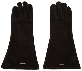 Undercover Black Suede Gloves