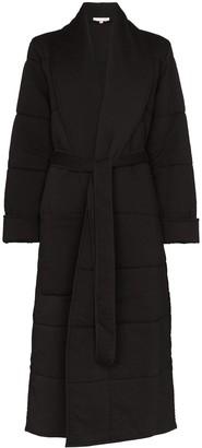 Skin Sierra quilted tie-waist robe