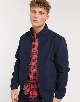 New Look harrington jacket in navy