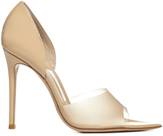 Gianvito Rossi Bree Patent Leather And Pvc Sandals