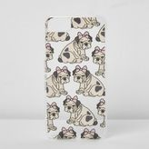 River Island Womens Beige dog bow iPhone 6/7 case