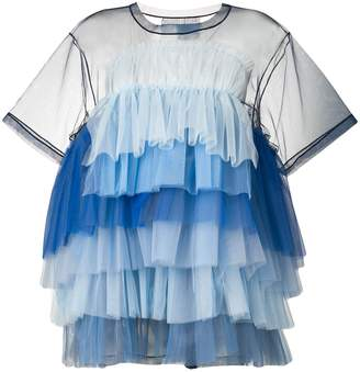 Viktor & Rolf tiered tulle dress
