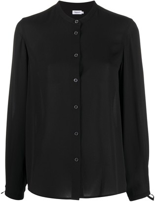 Filippa K Mandarin Collar Blouse