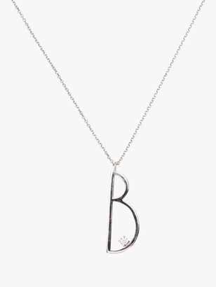 Mimi So Type Letter &B& Pendant