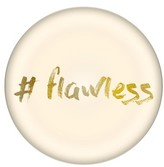Cathy's Concepts Flawless Domed Glass Paperweight - Metallic
