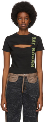 BARRAGÁN Black and Green Logo Baby T-Shirt