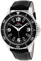 Seapro SP5311 Men's Tideway Black Leather Watch
