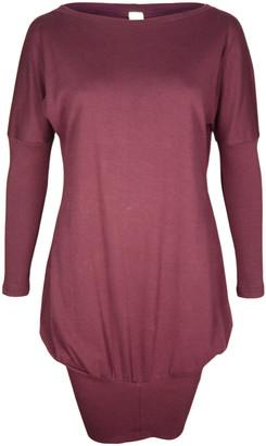 Format POKE Rust Interlock Dress - XS - Red/Brown/Copper