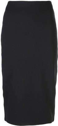 The Row High Waisted Pencil Skirt