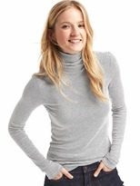Gap Ribbed stripe long sleeve turtleneck