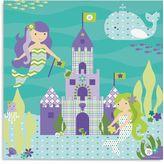 Oopsy Daisy Fine Art For Kids Too Ocean Mermaids Canvas Wall Art