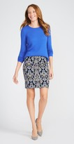 J.Mclaughlin Lucy Skirt in Vintage Brocade